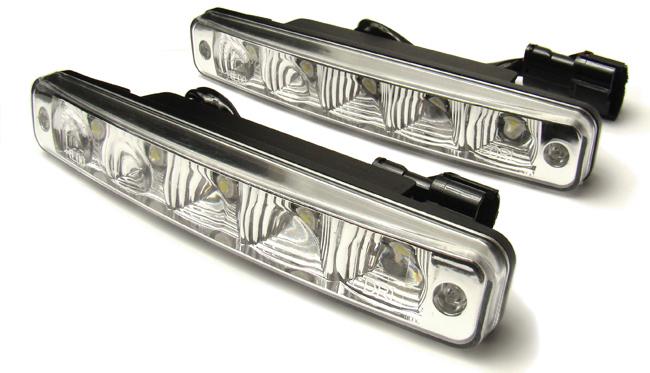 5 led daytime running lights r87 vw bus t4 t5 caravelle. Black Bedroom Furniture Sets. Home Design Ideas