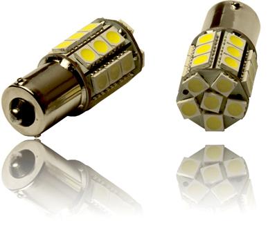 2 st ck ba15s p21w canbus birnen tagfahrlicht 27 xenon smd led lampen wei. Black Bedroom Furniture Sets. Home Design Ideas