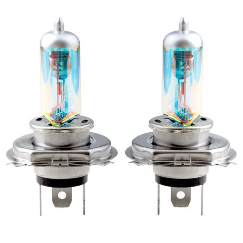 h4 rainbow blue xenon gl hbirnen halogen birnen lampen. Black Bedroom Furniture Sets. Home Design Ideas
