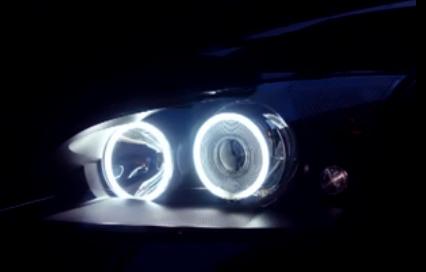 Headlights Angel Eyes CCFL Rings Ford Mondeo 02-07 Xenon+ST220 ...