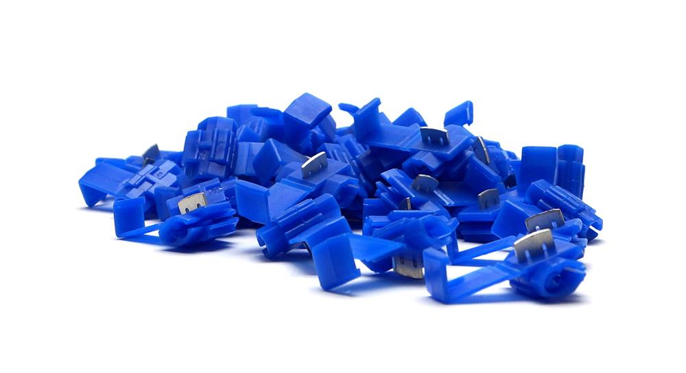 Schnellverbinder Mix 0,5-6,0 mm² Stromdiebe 50er Pack Abzweigverbinder Kabel