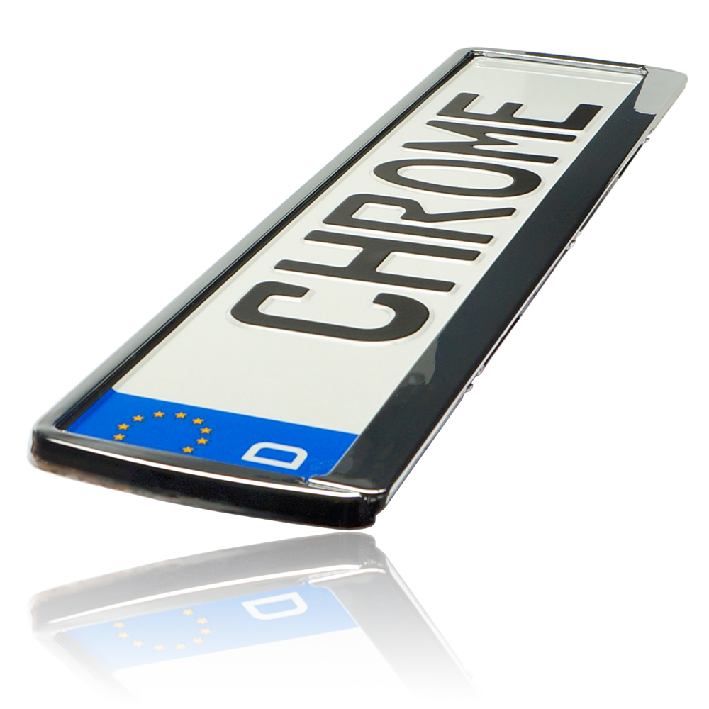 2x Metallic Grau Kennzeichenhalter Lexus IS+ES+GS+LS+RX+GX+LX+SC+CT+HS Tuning
