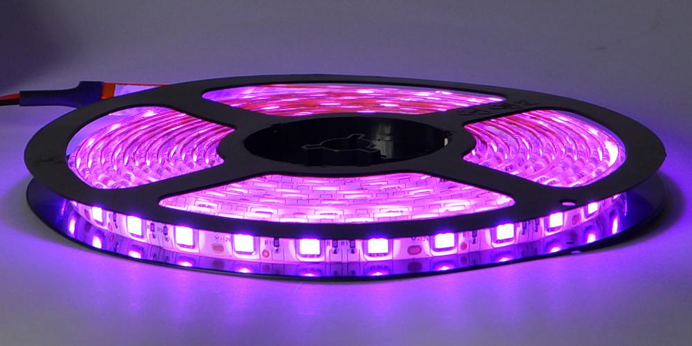 led streifen 5m 5000cm pink rosa 5050 led smd strip 60led m leiste wasserdicht ebay. Black Bedroom Furniture Sets. Home Design Ideas