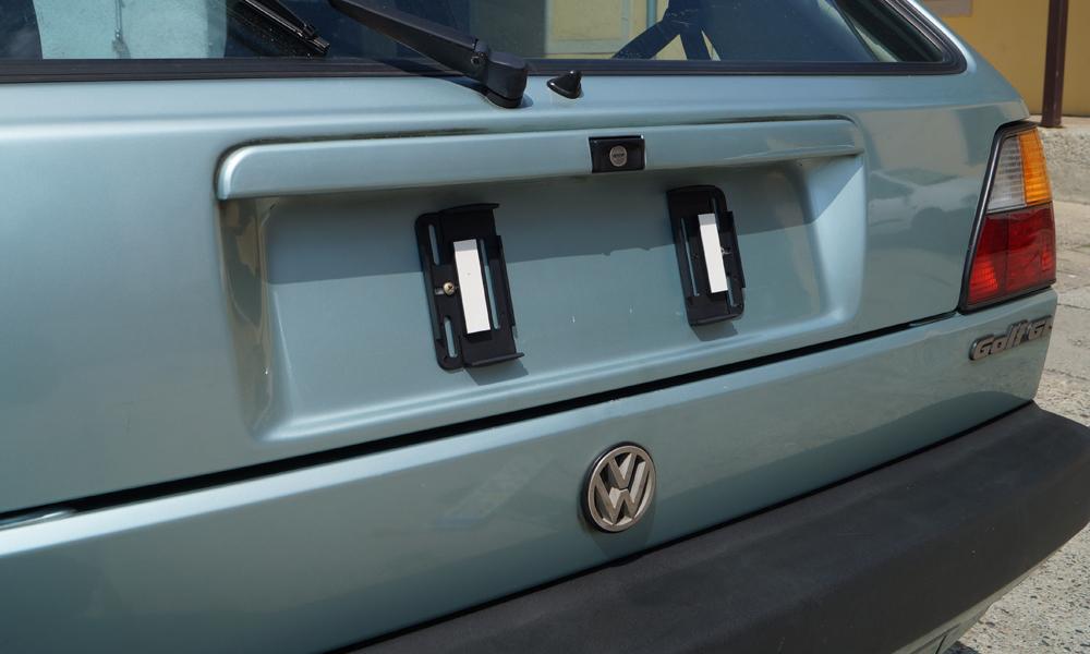 Kennzeichenhalter 2x Rahmenlose Hyundai i20+i30+i40+Pony+ix35+S ...